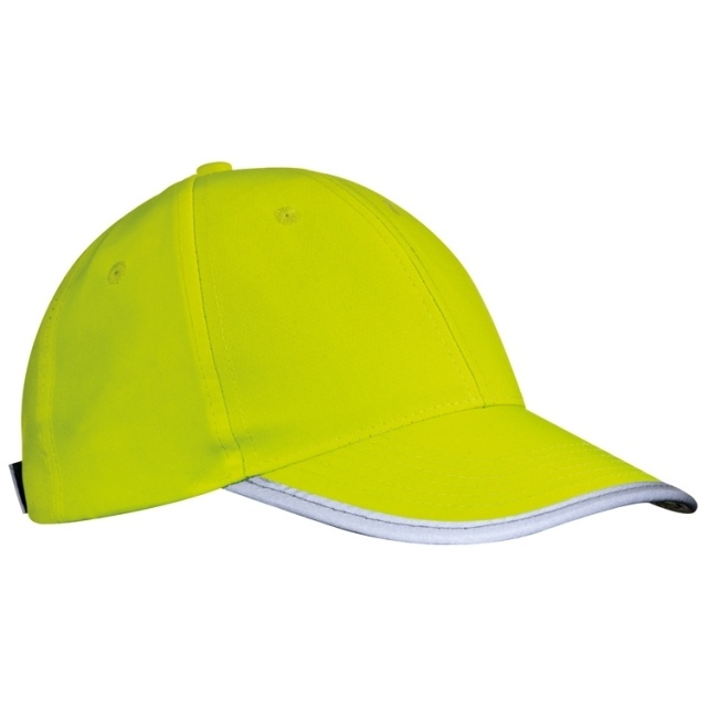 Logotrade promotional item picture of: Children's baseball cap 'Seattle', yellow