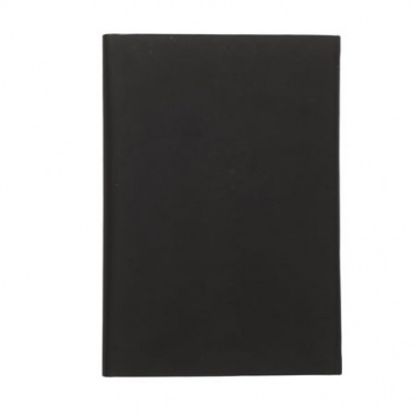 Logotrade promotional gift picture of: Note pad A5 Drawer, black