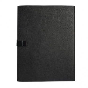 Logo trade promotional products image of: Folder A4 Dock business, black