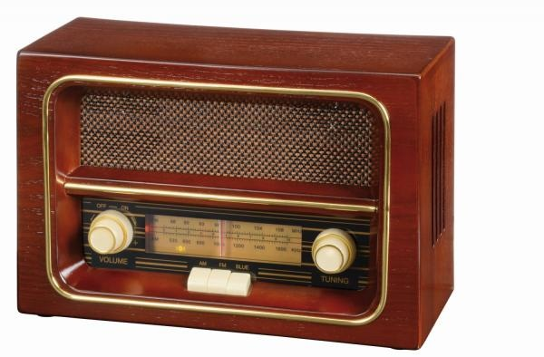 Logotrade promotional items photo of: AM/FM radio RECEIVER, brown